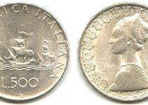 500 Lire Rare